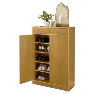 Nice 20 Pair Shoe Storage Cabinet