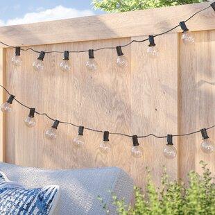 Sol 72 Outdoor Bakerhill 25-Light Globe String Lights