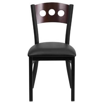 Ebern Designs Chesterland Patchwork Upholstered Side Chair Reviews Wayfair