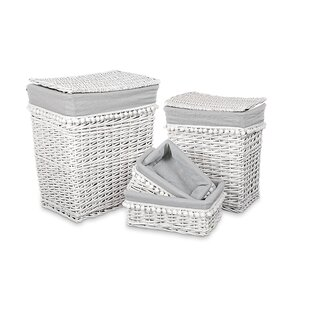 Review Wicker Laundry Set