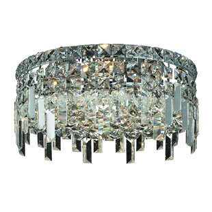 House of Hampton Langer 4-Light Flush Mount