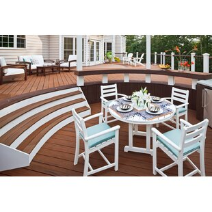 Monterey Bay 5 Piece Dining Set by Trex Outdoor
