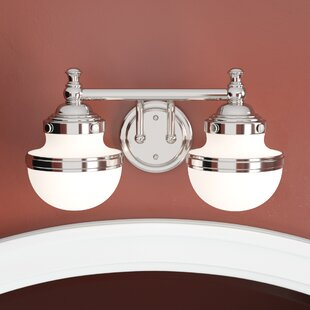 Buy luxury Myers 2-Light Vanity Light By Andover Mills