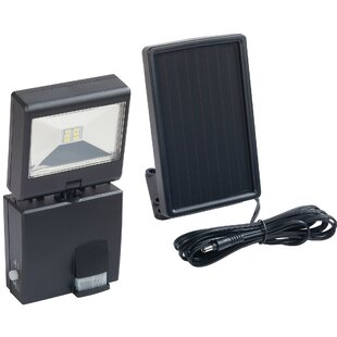 Heath-Zenith LED, Solar Power, Battery Operated Outdoor Security Wall Pack with Motion Sensor