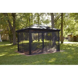 Sojag Ellington 10 Ft. W x 14 Ft. D Aluminum Patio Gazebo