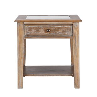 Best Reviews Estrella End Table By Loon Peak