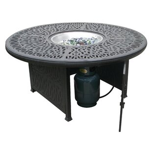 Aluminum Propane Gas Fire Pit Table