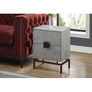 Douthat End Table with Storage