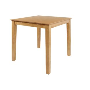 Ashraf Counter Height Solid Wood Dining Table