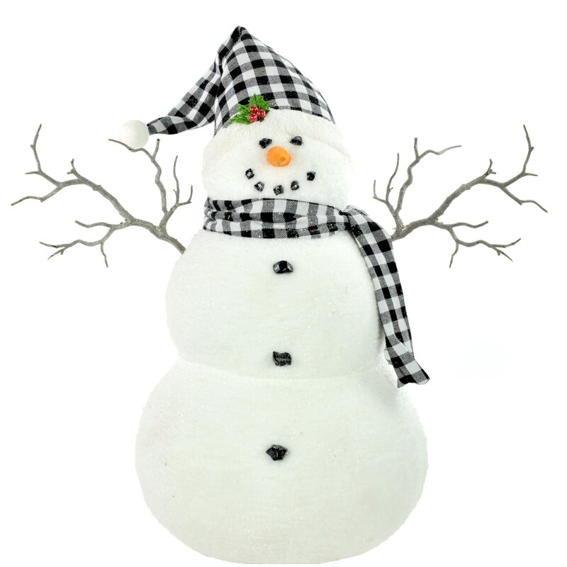 Traditional snowman