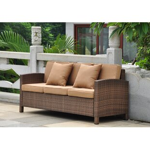 Katzer Patio Sofa with Cushions
