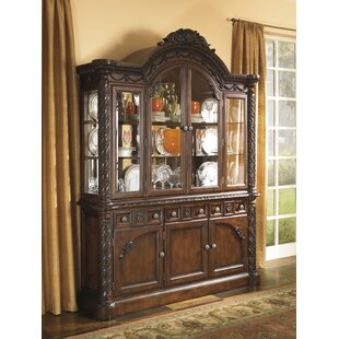 Astoria Grand Chapell Lighted China Cabinet