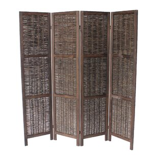 Madalynn 4 Panel Room Divider By Beachcrest Home