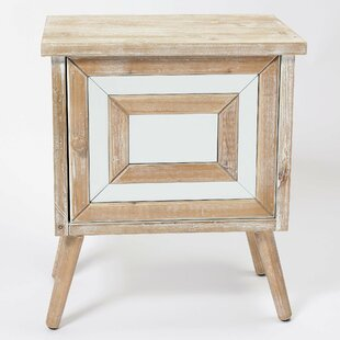 Hettinger Bedside Table By Brambly Cottage
