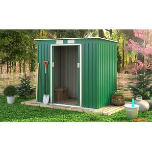 Ascot 7 Ft. W X 4 Ft. D Metal Garden Shed By WFX Utility