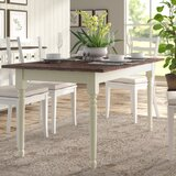 Asuncion Solid Wood Dining Table by Lark Manor