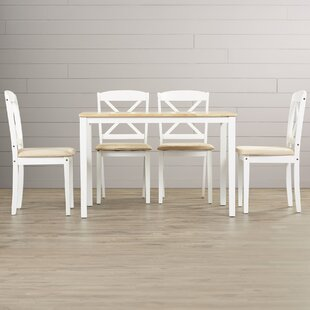 Scarlett 5 Piece Dining Set August Grove