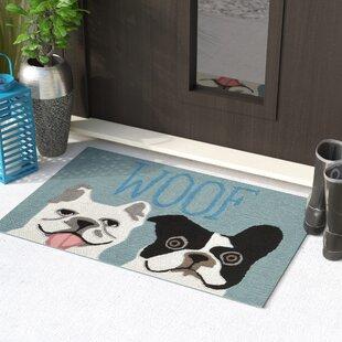Seavey Le Woof Door Mat by Wrought Studio