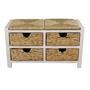 Highland Dunes Kidsgrove Top Storage Bench