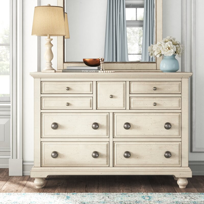 Angie 7 Drawer Dresser