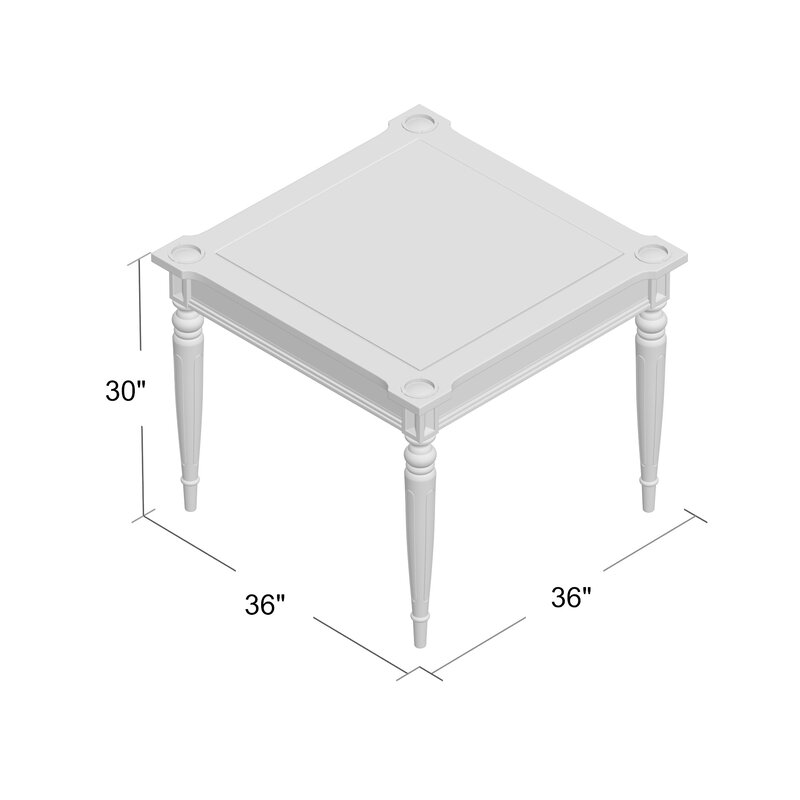 Eldon Multi Card Table
