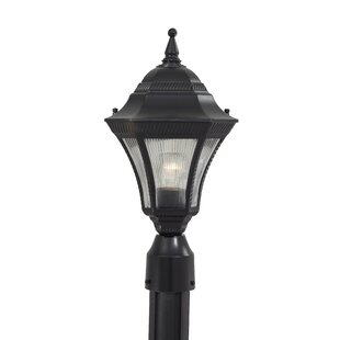 Online Reviews Segovia Outdoor 1-Light Lantern Head By Great Outdoors by Minka