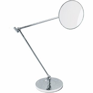 Low priced Kowalczyk Adjustable Swivel Makeup/Shaving Mirror By Symple Stuff