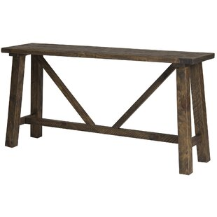 Loon Peak Myrtlewood Console Table