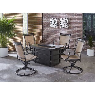 Bucher 5 Piece Firepit Set