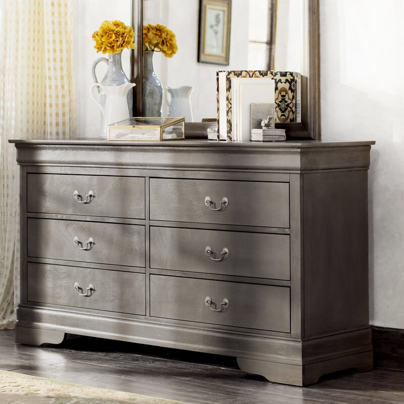 Oakvale 6 Drawer Double Dresser