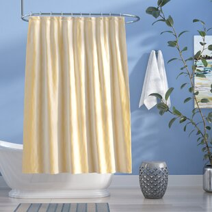 Easton Shimmer Faux Silk Single Shower Curtain