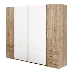Petrosky 4 Door Sliding Wardrobe By Brayden Studio