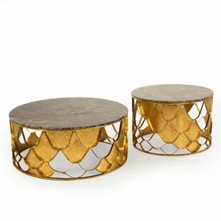 Kelita Casey 2 Piece Coffee Table Set