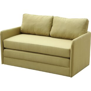 Earl Reversible Sleeper Loveseat by Zipcode Design