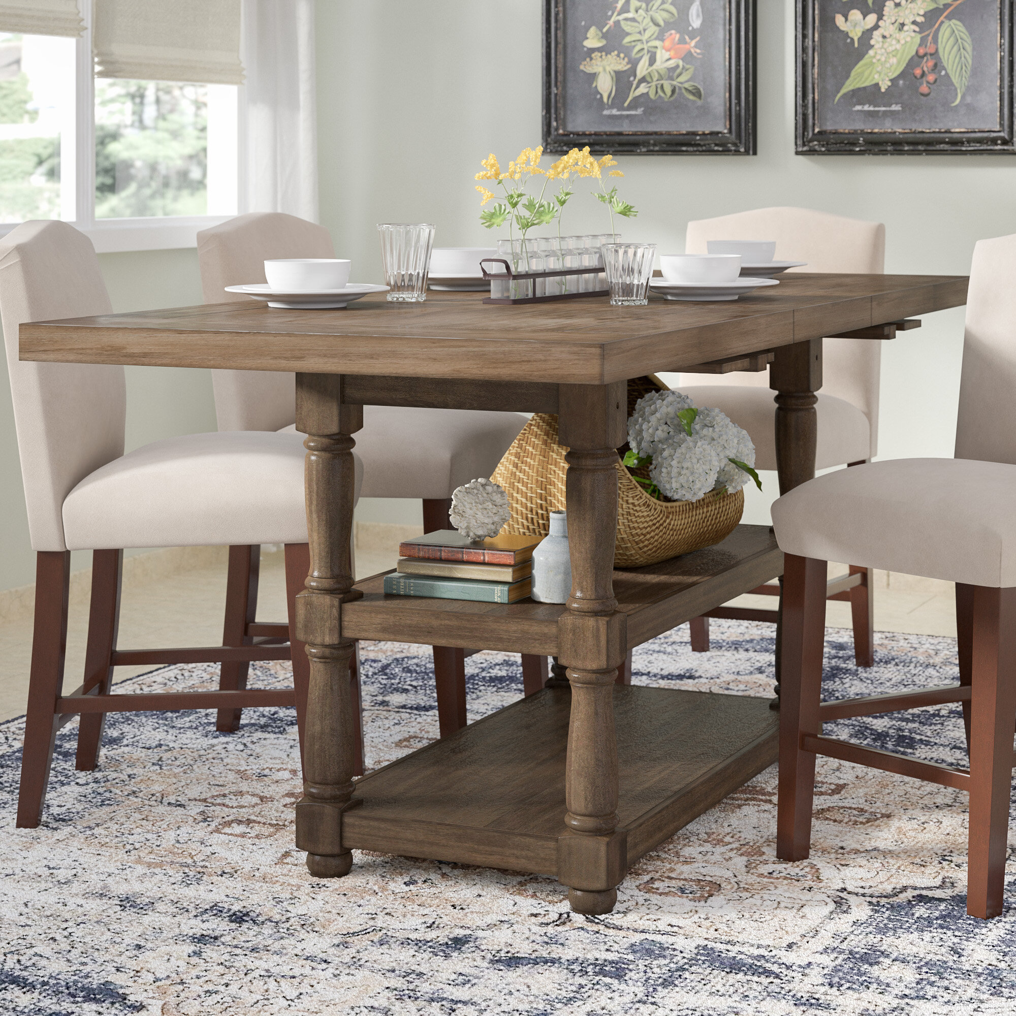 to park tables packages zoom four product room package and counter height dining oak hover stools table