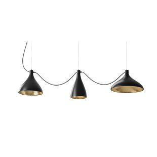 Swell String 3-Light Cluster Pendant by Pablo Designs