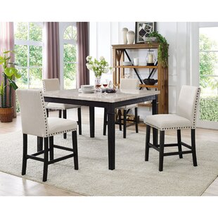 Low priced Irena 5 Piece Dining Set ByDarby Home Co