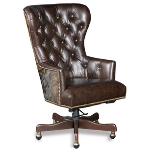 Katherine Genuine Leather Executive Chair