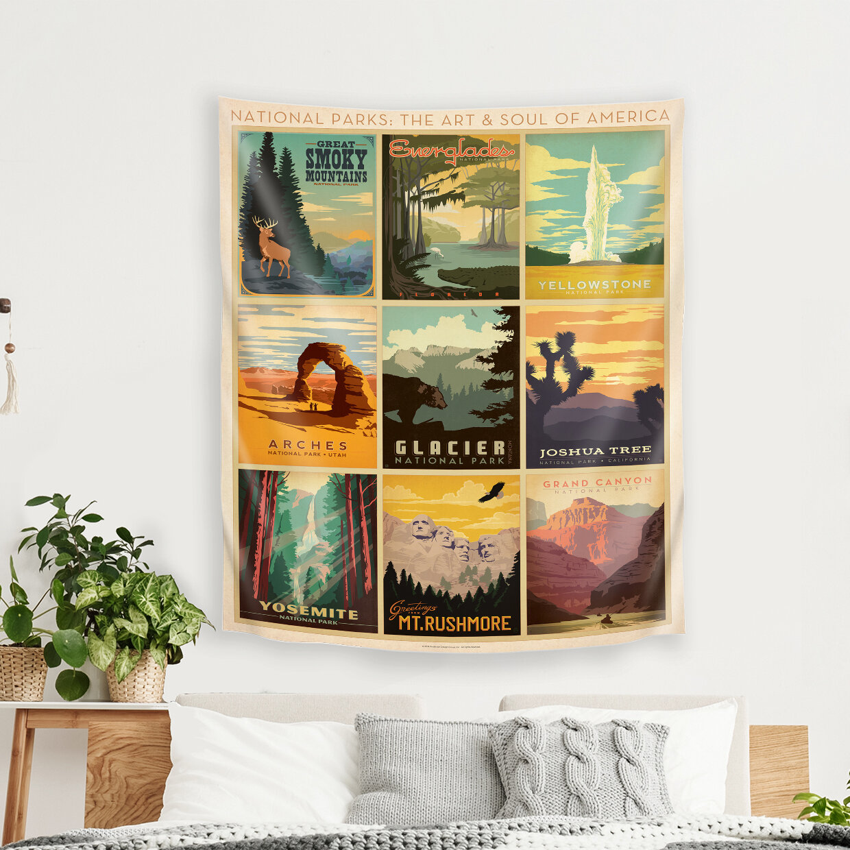 East Urban Home National Park Multi Tapestry By Anderson Design Group Reviews Wayfair