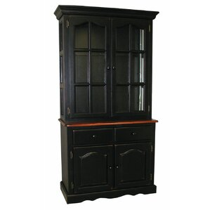 Lockwood Lighted China Cabinet by Loon Peak