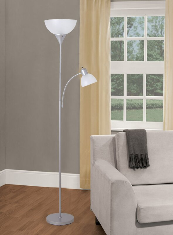 71 65 led torchiere floor lamp