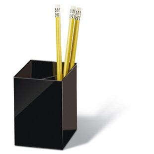 Officemate International Corp Pencil cup, Three Compartmentss, 2-7/8