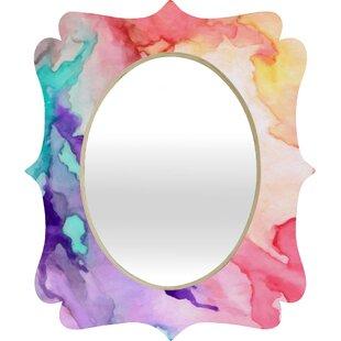 Deny Designs Rosie Color My World Quatrefoil Accent Mirror