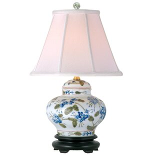 Compare Porcelain Jar 15 Table Lamp By Oriental Furniture