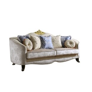 Shop Quane Sofa w/7 Pillows by Rosdorf Park
