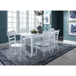Chastain 7 Piece Extendable Solid Wood Dining Set