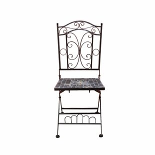 Gosnells Mosaic Metal Patio Dining Chair