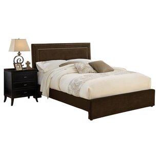 Amber Upholstered Platform Bed by Charlton Home