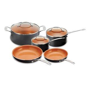 8 Piece Non-Stick Cookware Set (Wayfair Exclusive)