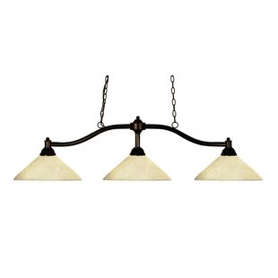 Beecroft 3-Light Pool Table Lights Pendant by Fleur De Lis Living